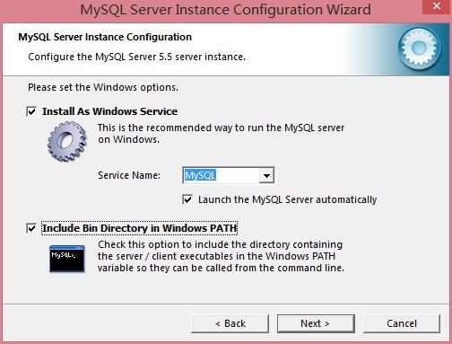 Windows 选项设置界面