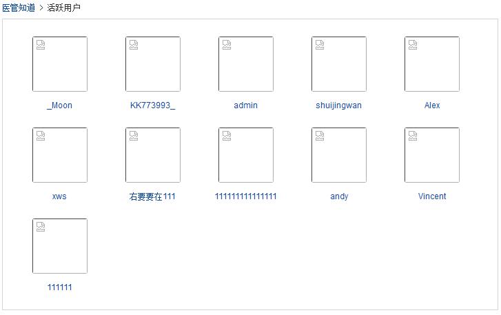 无法显示头像的截图,在活跃用户页面!