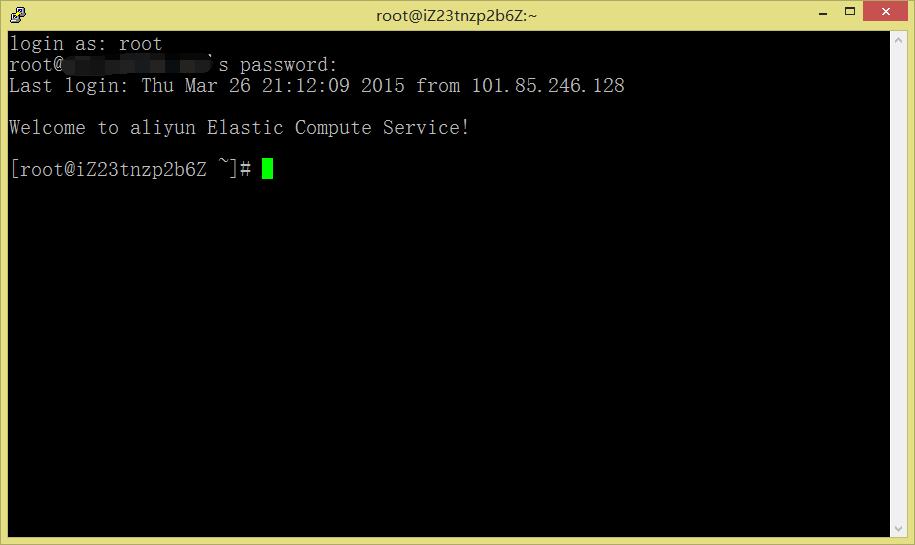 当前操作系统为CentOS 6.5 64位