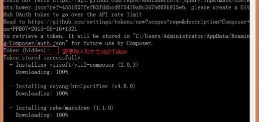 运行安装命令期间,需要输入刚才生成的Token