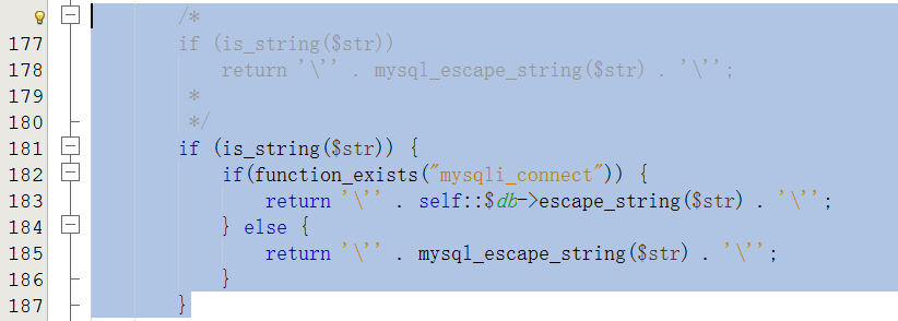 查找function quote,修改,因为其未做扩展支持的判断