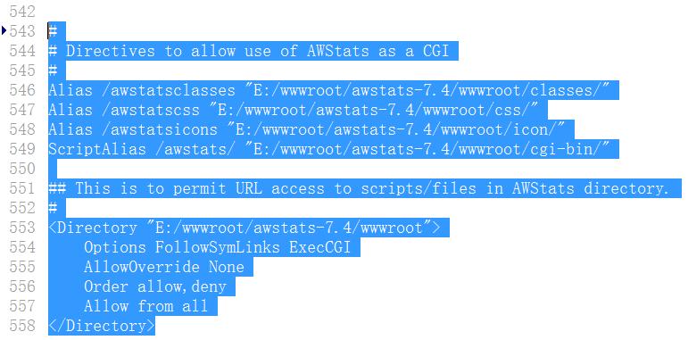 修改:C:/Apache24/conf/httpd.conf,修改为绝对路径