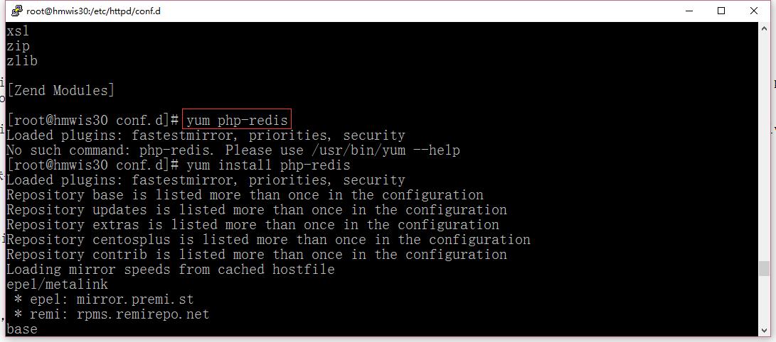 安装php-redis扩展