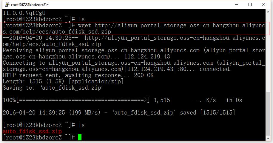 下载工具:auto_fdisk_ssd.sh,粘贴下载链接之后,需要进行修改