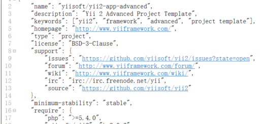 """""""require"""": { """"hprose/hprose-yii"""": """"dev-master"""" }"""