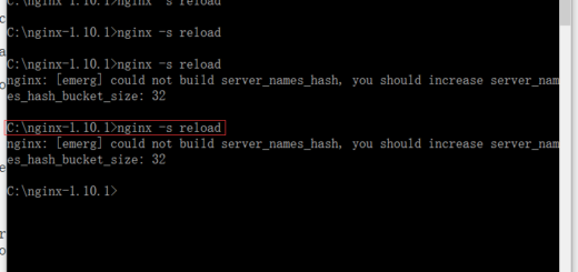 执行命令:nginx -s reload,重新加载,报错:nginx: [emerg] could not build server_names_hash, you should increase server_names_hash_bucket_size: 32