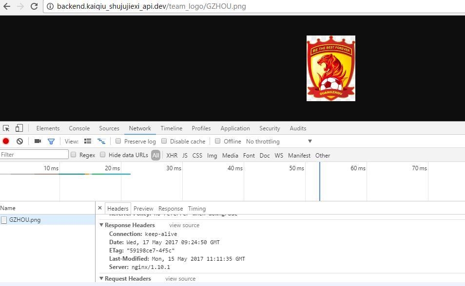 访问:http://backend.kaiqiu_shujujiexi_api.dev/team_logo/GZHOU.png ,响应