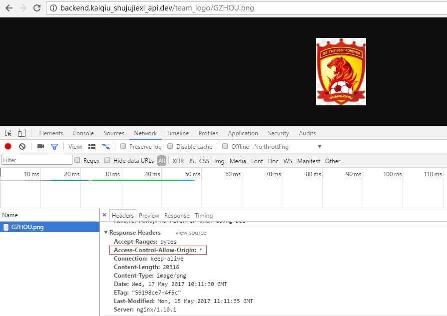 再次访问:http://backend.kaiqiu_shujujiexi_api.dev/team_logo/GZHOU.png ,响应