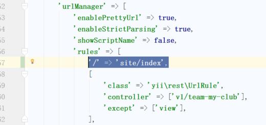在 URL 规则中添加一条