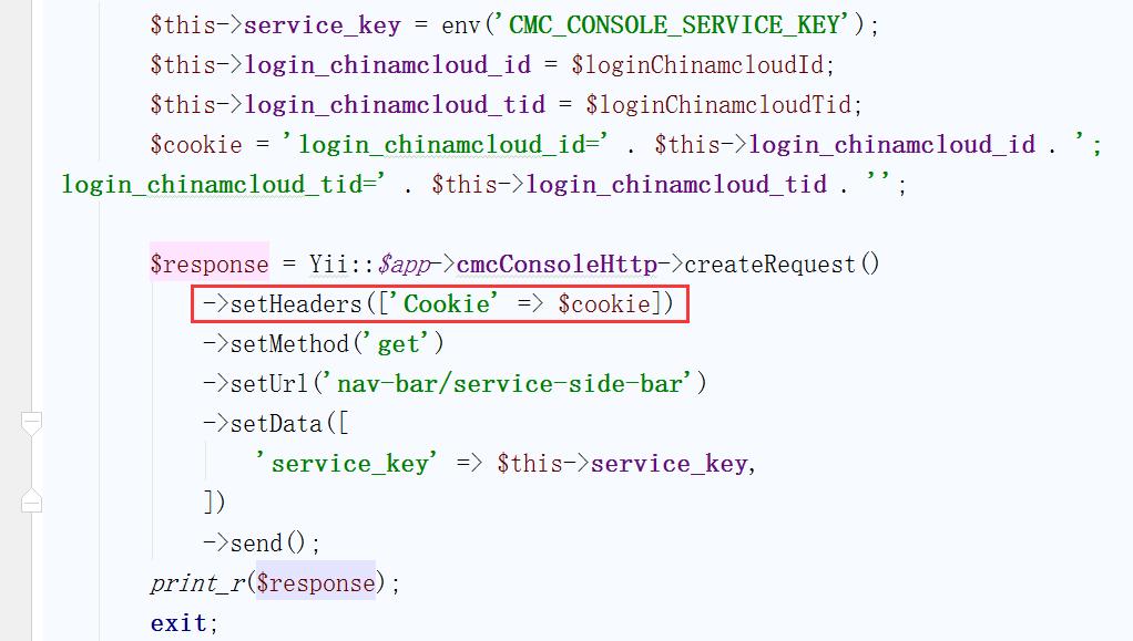 由于为 RESTful 应用,Cookies已经被禁用,因此 Cookies 仅作为请求头信息传输
