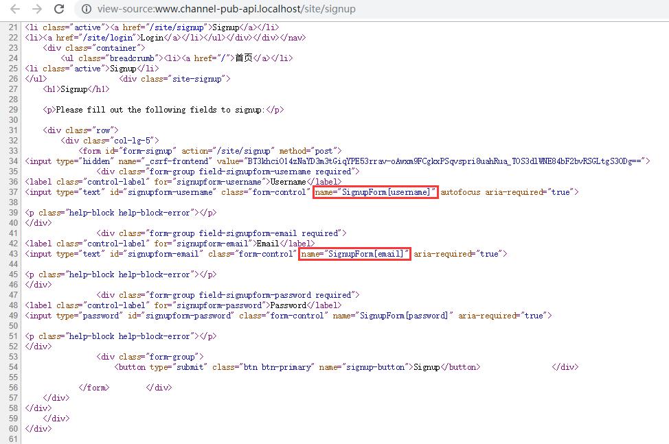 参考网址:https://www.yiiframework.com/doc/guide/2.0/zh-cn/input-multiple-models ,其用于网页表单是合适的,不过 API 应用的请求参数一般并未添加表单名称(尤其是单个模型输入时),因此,不太合适,例:表名为 article_type,字段名为 code,那么请求参数名为 article_type_code,而不是:ArticleType['code'],网页表单