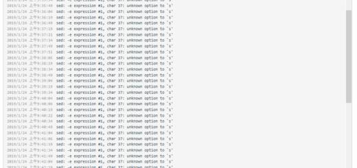 在 Rancher 容器升级时,执行 SHELL 脚本报错:sed: -e expression #1, char 37: unknown option to `s'