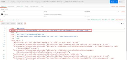 在 Yii 2.0 中报错:Calling unknown method yii2techarsoftdeleteSoftDeleteBehaviorisTransactional()