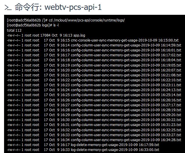 查看写入的文本文件,以检测命令行运行的间隔加运行时间(包含命令行自身运行的时间长度),符合预期