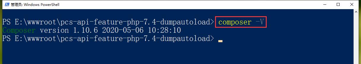 翻译之后,弃用通知:类不符合 psr-0 自动加载标准。在 Composer v2.0 中将不再自动加载。不过,现在 Composer 的版本是:Composer version 1.10.6,暂时可以不用理会。