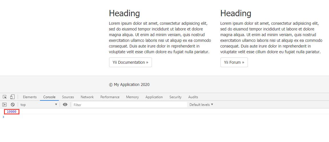 再次 POST 请求,响应 200,浏览器中的控制台成功输出响应数据的 code。