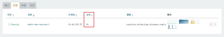 添加前,其主机为:lb。