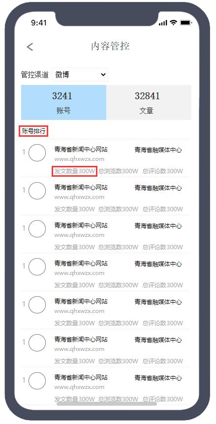 现在有一个新的需求,需要基于微博用户的发布文章的数量降序排序。决定复用此接口。添加请求参数:sort=-channel_app_task_count。