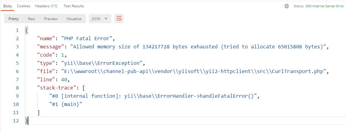 运行代码,视频文件的大小为:396 MB,报错:Allowed memory size of 134217728 bytes exhausted (tried to allocate 62918656 bytes)。