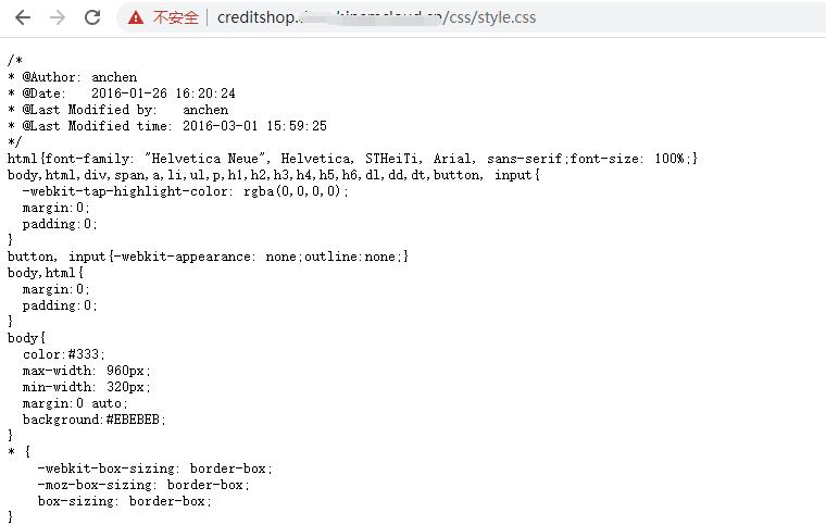编辑 Nginx 配置文件内容如下。不再启用 ModSecurity。响应 200。