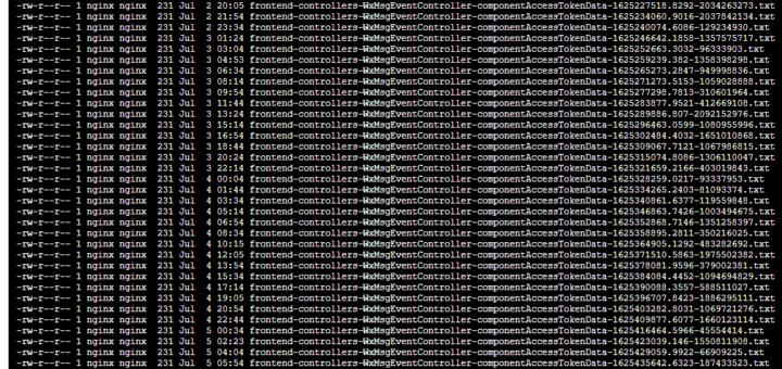 查看每一次获取令牌的 HTTP 请求的具体时间点