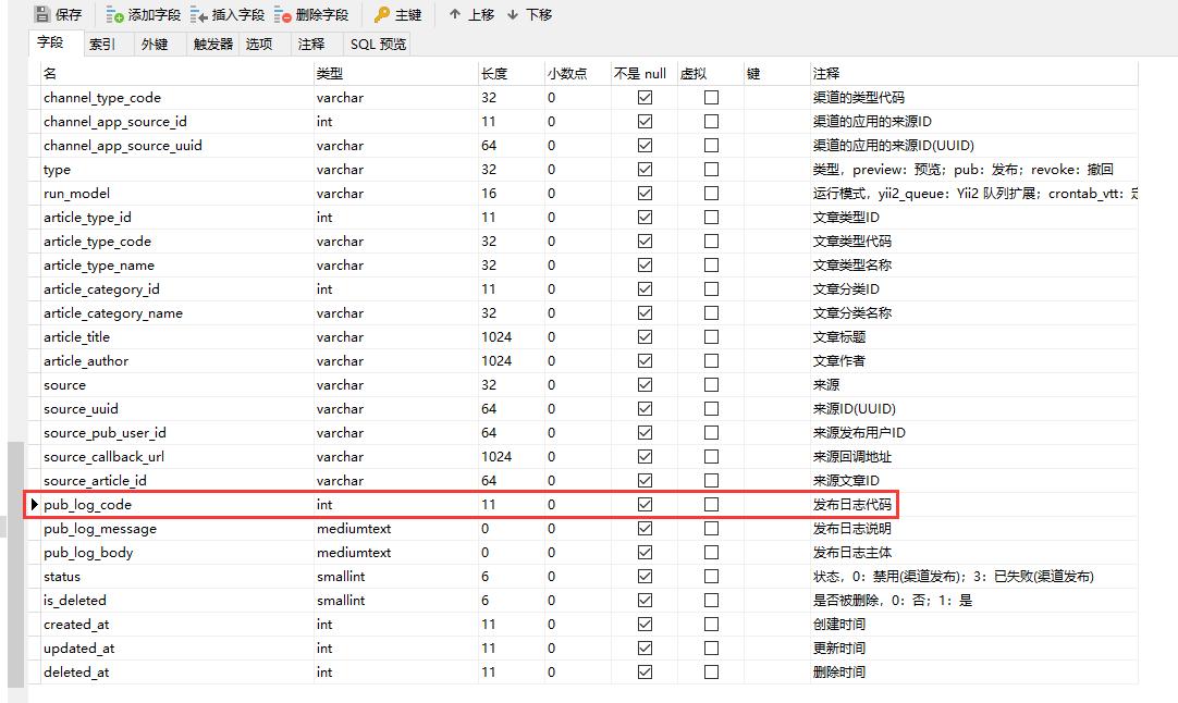 SQL 报错,根源在于表:cpa_pre_pub_log 的字段:pub_log_code 的类型:int(11),但是插入的值为字符串:42S22。